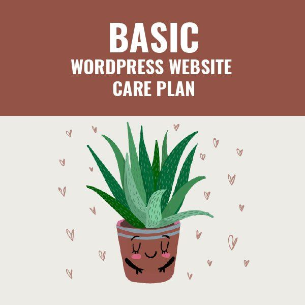 Basic Wordpress Website Plan